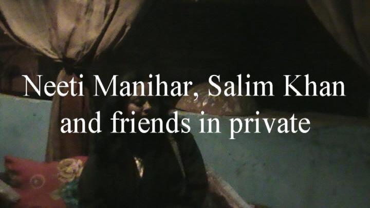 Neeti Manihar, Salim Khan and friends