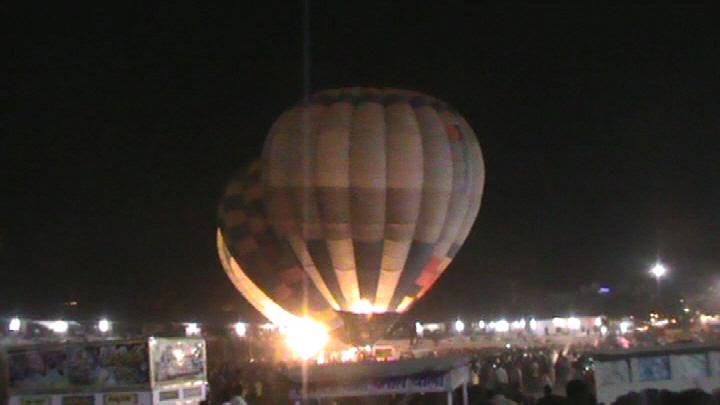 Balloon Pyrotechnics